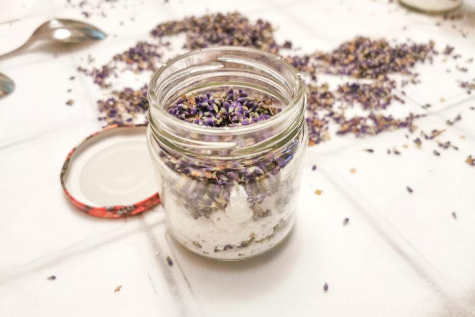 gruenesherz.blog   Lavendel-Zucker