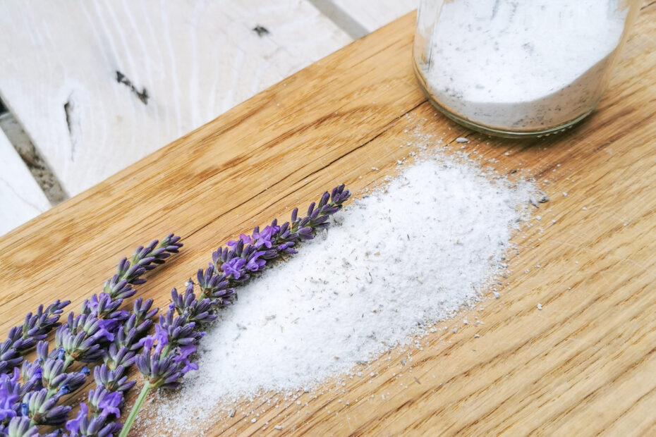 gruenesherz.blog   fertiger Lavendel-Zucker